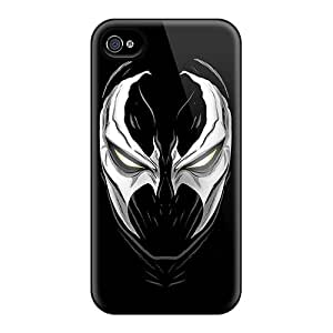 Iphone 6 Hard Back With Bumper Silicone Gel Tpu Cases Covers Venom Portrait
