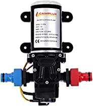 Camplux 12V Water Pump 65PSI DC 1.6GPM 6LPM Diaphragm for Caravan RV Marine Fishing Boat
