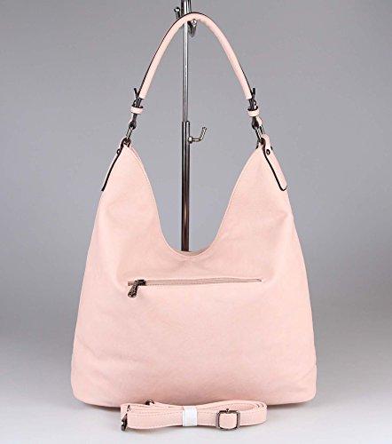 l'épaule Rose ca cm BxHxT porter OBC femme Couture 42x34x12 Rosa Only Sac à à Rosa Beautiful pour vvFqBnzw7x