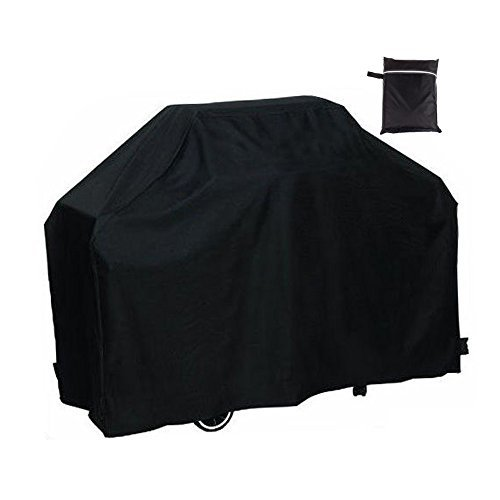 Easehold BBQ Gas Grill Covers Outdoor Waterproof All Weather Shelter 57x24x46 Inch Black