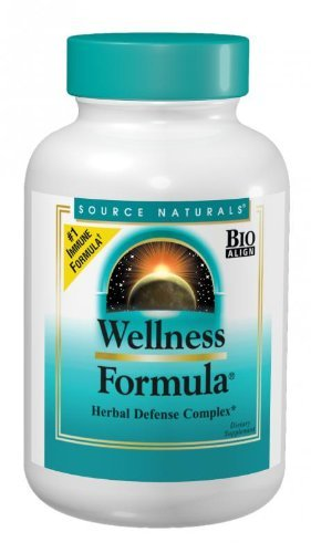(Source Naturals Wellness Formula Bio-Aligned Vitamins & Herbal Defense - Immune System Support Supplement & Immunity Booster - 45 Tablets)