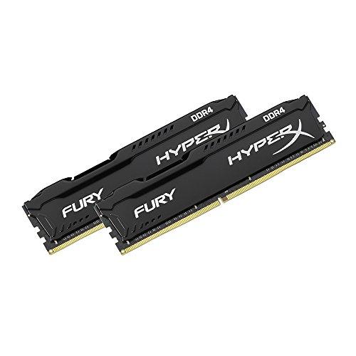 اسعار Kingston Technology HyperX Fury Black 32GB 2666MHz DDR4 CL16 DIMM Kit of 2 (HX426C16FBK2 / 32)