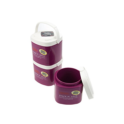 Thermos Stackable Containers Insulated Storage