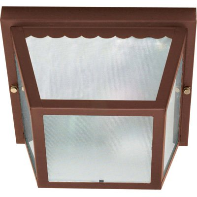 Nuvo Outdoor - 2 Light - 10 in. Carport Flush Mount by Nuvo