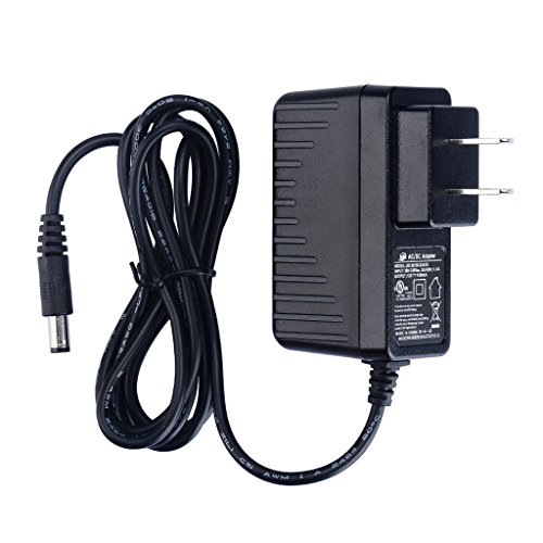 PryEU 18W Power Supply 120V AC to 12V DC 1.5A Charger Transformer Adapters UL Listed with Jack 5.5mm x 2.1mm