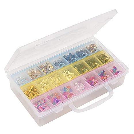 Kurtzy Pastillero Semanal Dispensador (7 Días) - Plástico Organizador de Pastillas con caso - Pill Box de viaje con 21 Compartimientos: Amazon.es: Hogar