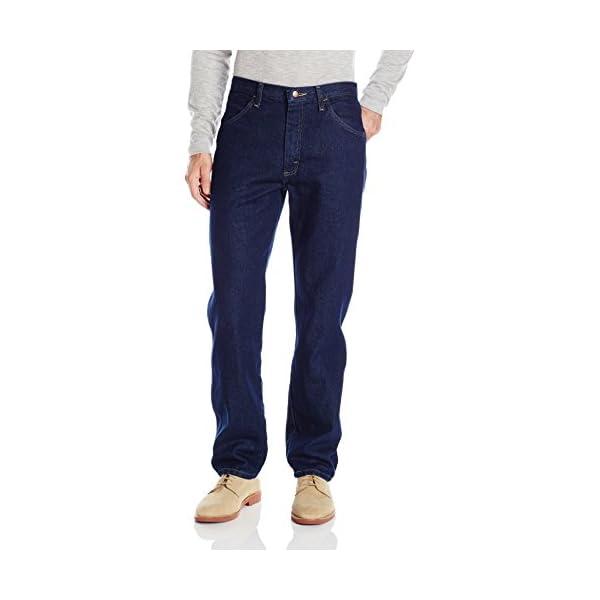 New Maverick Men/'s Regular Fit Jeans Dark Rinse 14 oz Heavyweight denim