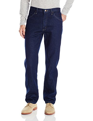 Maverick Men's Regular Fit Jean, Dark Rinse, 38x30