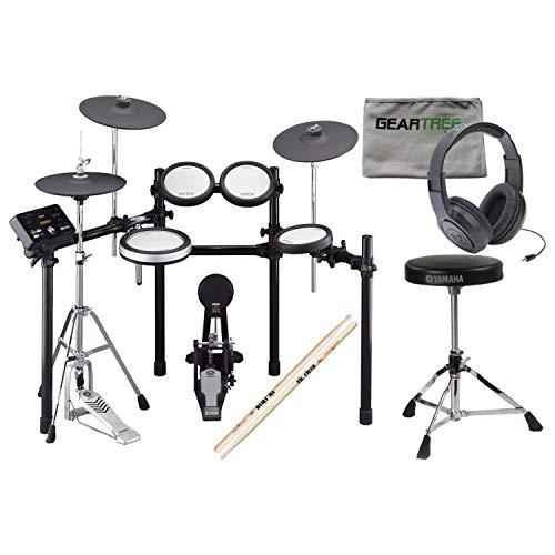 Yamaha DTX562K Electronic Drum Set w/Hi-Hat Stand,Headphones, Throne, Sticks, a