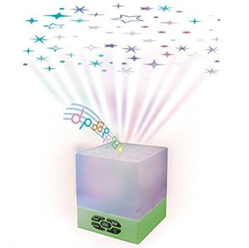 Amazon.com: Bebé Star Glow cubeta Proyector de Techo/Musical ...