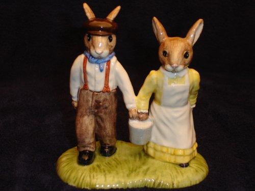 """Royal Doulton """"Jack and Jill Bunnykins"""" DB222"""