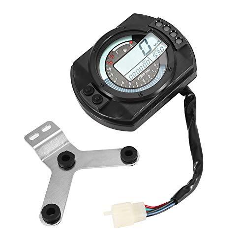 Motorcycle LCD Speedometer Odometer Tachometer: