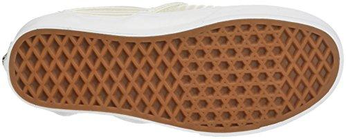 Vans Unisex Classico Slip-on Scarpe Betulla / Blanc De Blanc