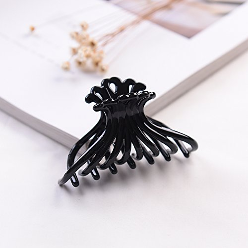 re black hair caught taking bath wash large docks for large ponytail clip ponytail holder hair pin comb claw issuing sub-sub-plate hair hair coil twist ()