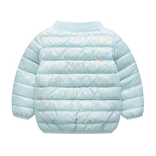 Toddler Boy Fairy Baby Light Girl Unisex Warm Baby Blue Cotton Winter Puffer Outwear Jacket 5wTwqtSW