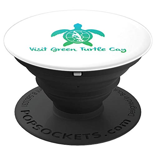 Visit Green Turtle Cay Popsocket - PopSockets Grip and Stand for Phones and Tablets