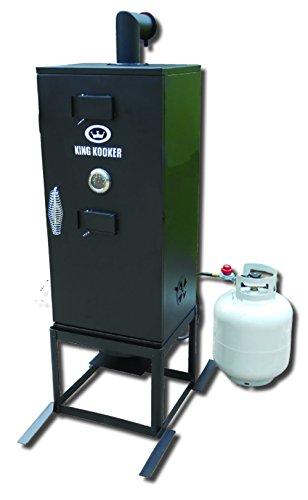 King Kooker 4010061 2213-High Pressure Smoker/Cooker w/34 Cabinet, One Size, ()