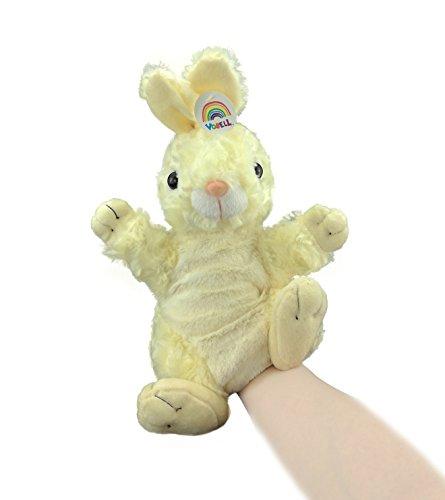 Vobell Bunny Rabbit Hand Puppets Plush Stuffed Animals Toys 11