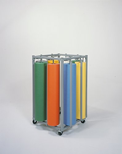 Eight Paper Roll Vertical Dispenser Rack - Bulman R995 (Paper Rack Vertical Roll)