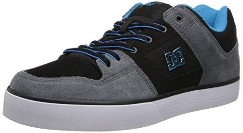 Dc Mens Pure Rm Footwear Grigio / Nero / Blu