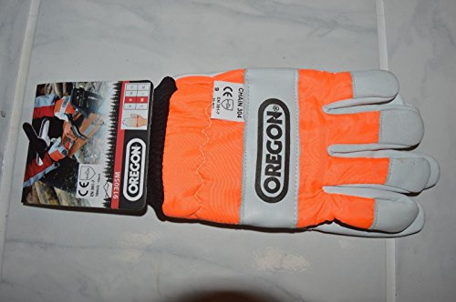 Nessagro 1 Oregon 91305M Safety Chainsaw Protective Gloves Medium Size 9 cm Kevlar .#GH45843 3468-T34562FD29775