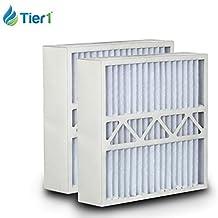 Tier1 20x20x5 MERV 13 Amana MU2020 / M2-1056 Comparable Air Filter DPFPC20X20X5M13DAM - 2PK by Tier1