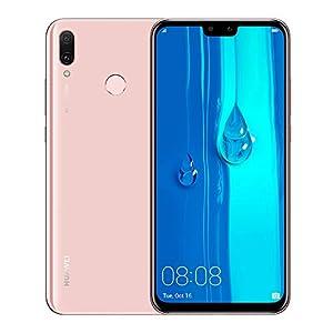 Huawei Y9 2019 JKM-LX3 6.5″ HiSilicon Kirin 710 64GB 3GB RAM Dual SIM A-GPS Fingerprint -Glonass No Warranty US (Pink)