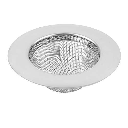 Filtro lavello per Scarico a Pavimento in Acciaio Inox per Cucina Evitare l'intasamento Filtro per Serbatoio Acqua di Scarico per apparecchiature da Cucire – Argento – 11,3 cm Prezzi