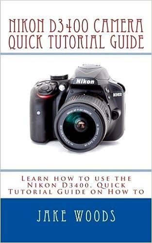 nikon d3400 user manual