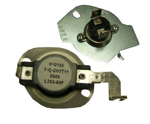 Supco SET197 Hi-Limit Dryer L250-80 Thermostat Fuse Kit For