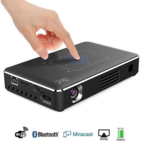 Mengen88 Mini proyector, 4K 1080P Wi-Fi Conectividad Inalámbrica ...
