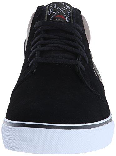 Lakai , Herren Skateboardschuhe schwarz Black/Walnut 44