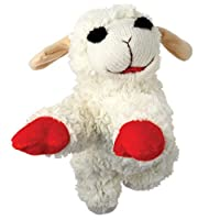 MultiPet MU48371 International 843140 Lambchop Plush Squeak Toy Mini for Pets, 6-Inch