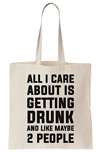 I Care Like Maybe About Getting 2 Bag Canvas All Tote And Drunk Is People pd06qwd5xB