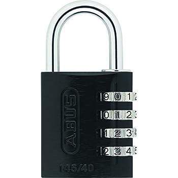 84b98c11b71b ABUS 158/45KC B Zinc Resettable Combination Padlock with Key Conrol ...