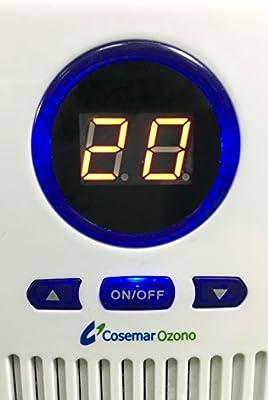 Generador de ozono doméstico mini. Ozonizador de enchufe, elimina ...