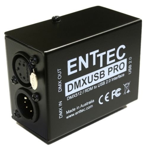 Usb Control Dmx (Enttec DMX USB Pro 70304 RDM Lighting Controller Interface)