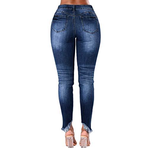 Foro Donna Moda Casual Con Vita Pantaloni Per Alta Da 1 Rxf A Jeans Slim vBXRqAwq0