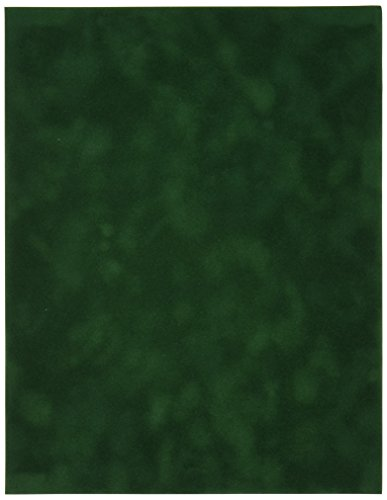 Sew Easy Industries 12-Sheet Velvet Paper, 8.5 by 11-Inch, Alpine by Sew Easy Industries