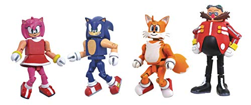 DIAMOND SELECT TOYS Sonic The Hedgehog Series 1 Minimates Box Set