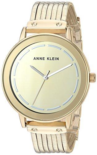 Anne Klein Women s Mirror Dial Chain Bracelet Watch