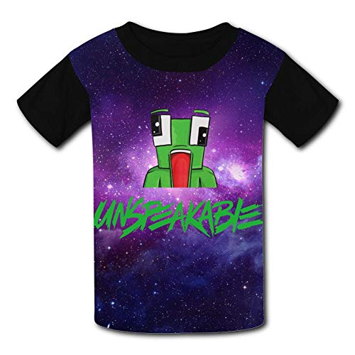 (Mine-Craft Un-Speakable Kids T-Shirt Short Sleeve Unisex Crew Neck Casual Tees for Boys Girls)