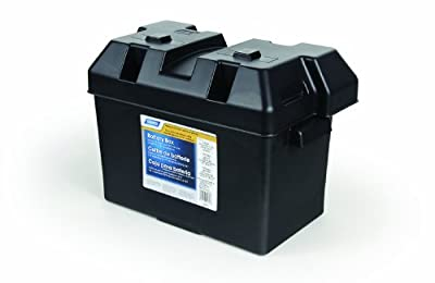 Camco 55373 Large Battery Box - Groups 27, 30 and 31