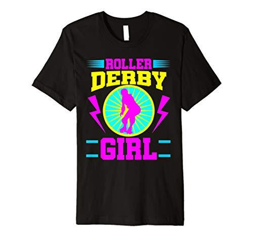 (Roller Derby Girl Shirt Roller Skating Jammer Skate Gift)