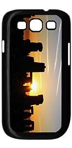 Stonehenge Art HD image case for Samsung Galaxy S3 I9300 black + Card Sticker