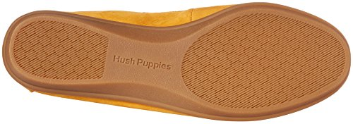 Hush Puppies Womens Infinite Wink Flat In Oro Nubuck