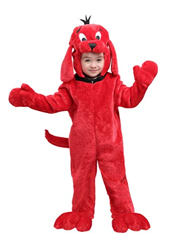Clifford Big Red Dog Halloween Costumes (Clifford The Big Red Dog Toddler Costume 18)