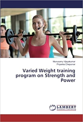 Book Varied Weight training program on Strength and Power