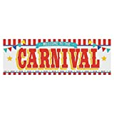 Carnival Welcome Party Banner - 6 Feet Long