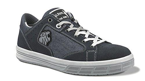 Chaussures de sécurité en ISO 20345S1P SRC Trophy Taille 38Daim Bleu